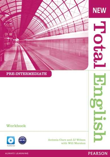 Изображение New Total English Pre-Int WB without key +CD