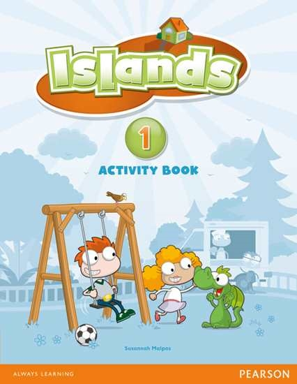 Изображение Islands 1 Activity Book plus pin code