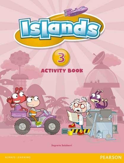 Изображение Islands 3 Activity Book plus pin code