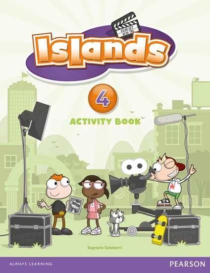 Изображение Islands 4 Activity Book plus pin code