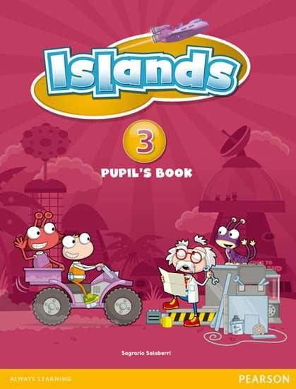 Изображение Islands 3 Pupil's Book plus pin code