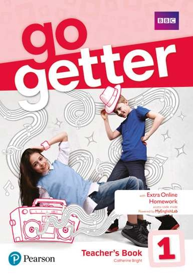 Изображение GoGetter 1 Teacher's Book with MyEnglish Lab & Online Extra Home Work + DVD-ROM Pack