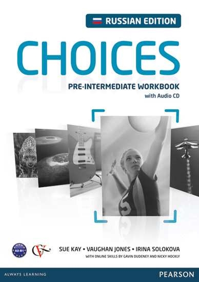 Изображение Choices Russia Choices Russia Pre-Int WB +CD