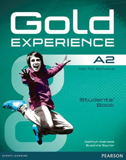 Изображение Gold Experience A2 Students' Book+DVD