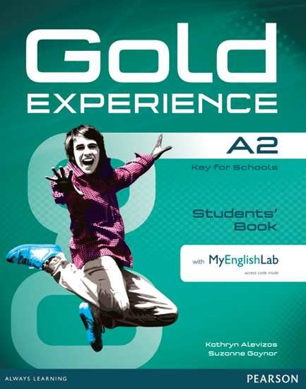 Изображение Gold Experience A2 Students' Book+DVD+MEL