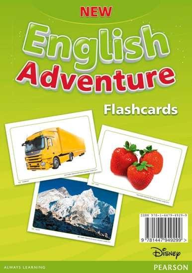 Изображение New English Adventure 1 Flashcards
