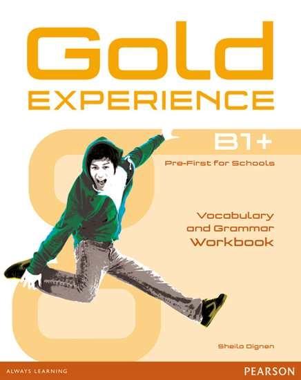Изображение Gold Experience B1+ Grammar & Vocabulary WB without key