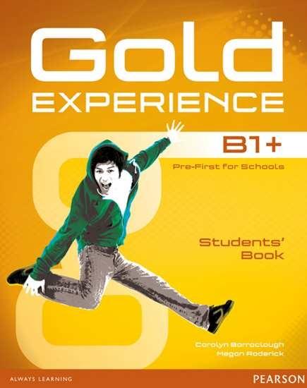 Изображение Gold Experience B1+ Students' Book+DVD