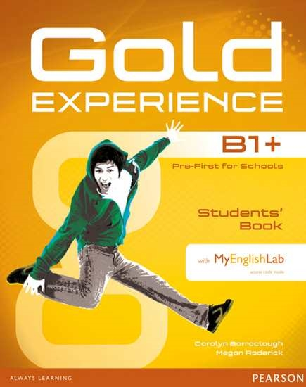 Изображение Gold Experience B1+ Students' Book+DVD+MEL