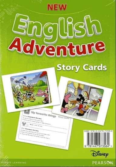 Изображение New English Adventure 1 Storycards