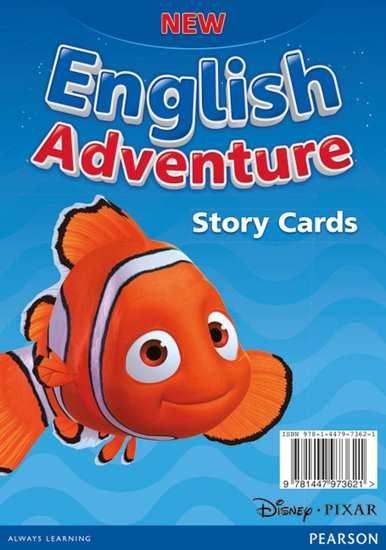 Изображение New English Adventure Starter A Storycards
