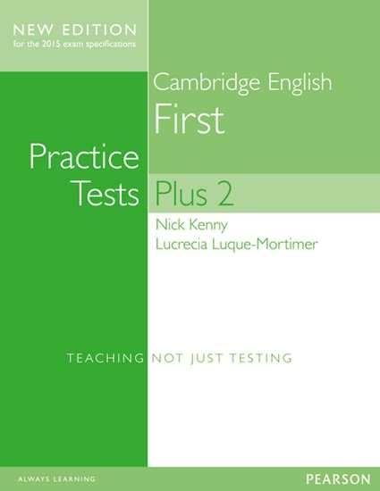 Изображение Practice Tests Plus Cambridge First NEd SB with key