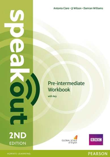 Изображение Speakout 2Ed Pre-Int Workbook with Key