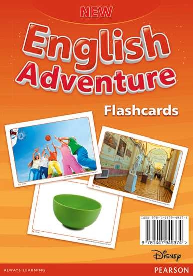 Изображение New English Adventure 2 Flashcards