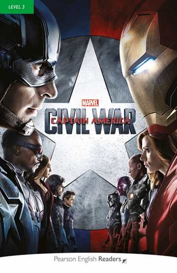 Изображение Marvel Captain America Civil War Bk/MP3 CD
