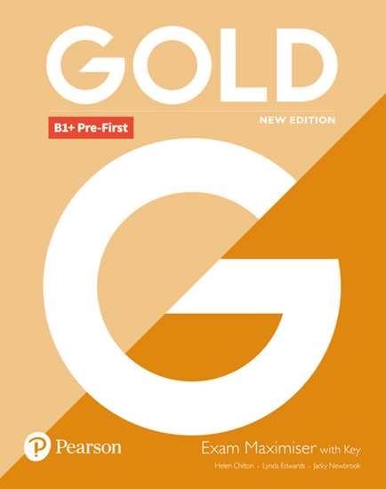 Изображение Gold B1+ Pre-First 2018 Exam Maximiser withKey