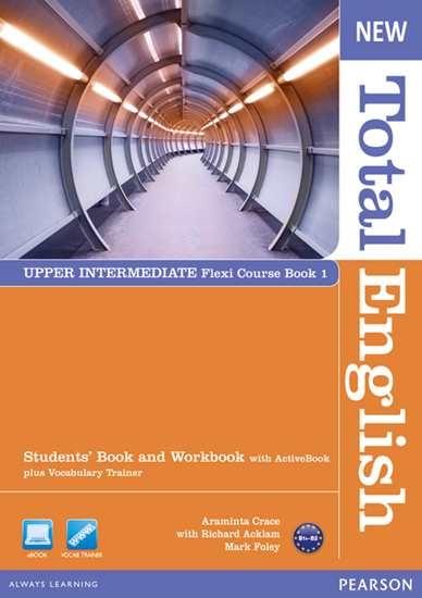 Изображение New Total English Up-Int Flexi Coursebook 1 Pack