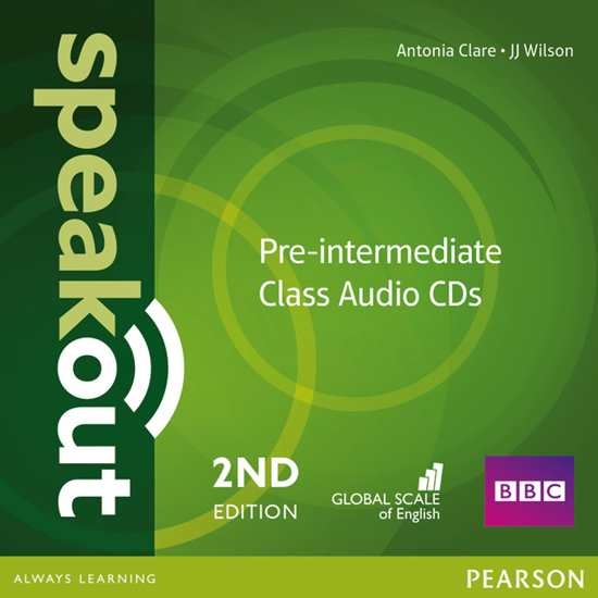 Изображение Speakout 2ed Pre-Intermediate Class CD (2)