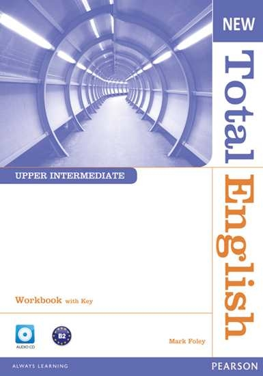 Изображение New Total English Up-Int WB with Key +CD