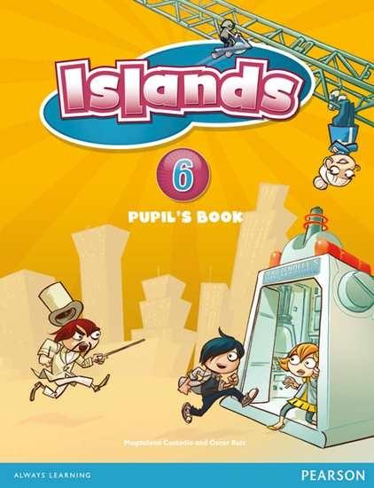 Изображение Islands 6 Pupil's Book plus pin code
