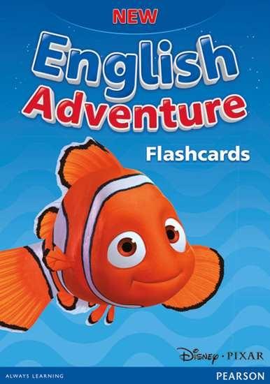 Изображение New English Adventure Starter A&B Flashcards