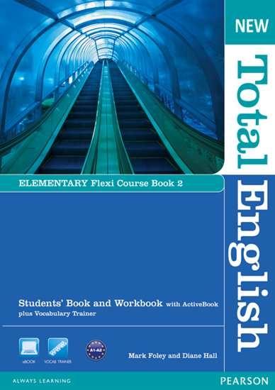 Изображение New Total Engli   New Total English Elem Flexi Coursebook 2 Pack
