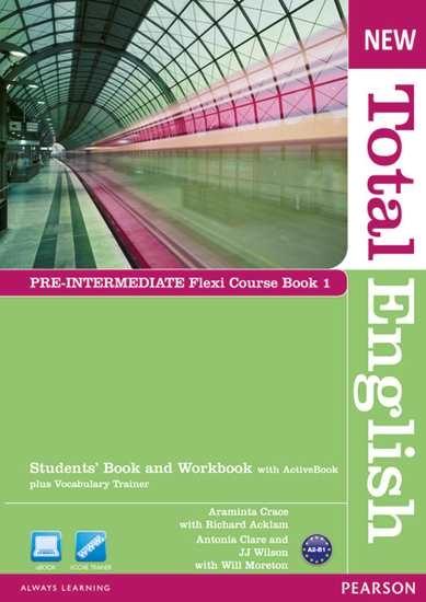 Изображение New Total Engli   New Total English Pre-Int Flexi Coursebook 1 Pack