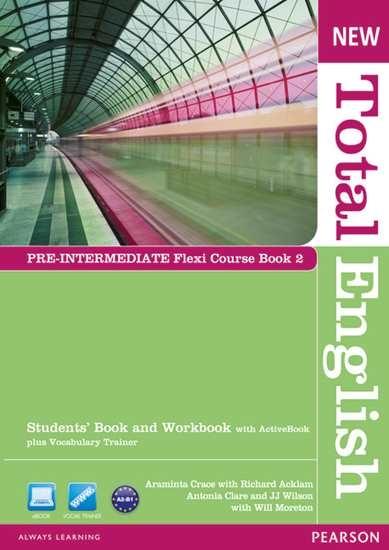 Изображение New Total Engli   New Total English Pre-Int Flexi Coursebook 2 Pack