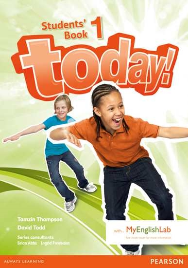 Изображение Today!   Today! 1 Students' Book+MEL