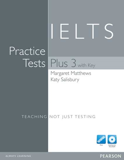 Изображение Practice Tests Plus IELTS 3 with key + CD