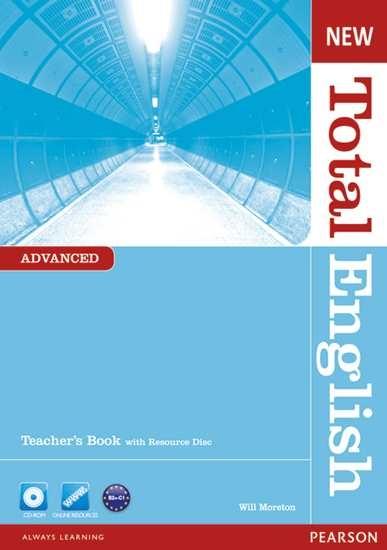 Изображение New Total English Adv TB + Teacher's Resource CD