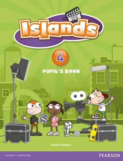 Изображение Islands 4 Pupil's Book plus pin code