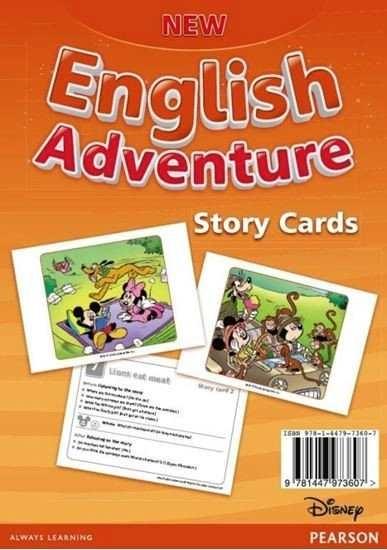 Изображение New English Adventure 2 Storycards