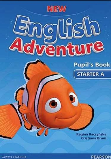 Изображение New English Adventure Starter A PB+DVD