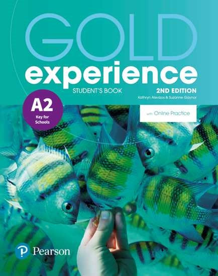 Изображение Gold Experience 2nd Edition A2 SB/Online Practice