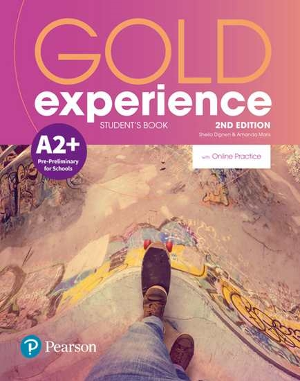 Изображение Gold Experience 2nd Edition A2+ SB/Online Practice