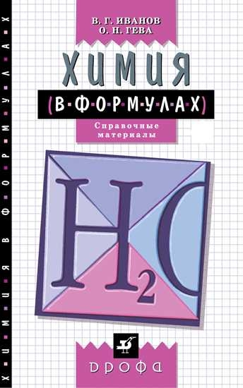 Изображение Химия в формулах. Справочное пособие. 8-11 классы